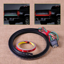 "60"" LED Running Reverse Brake Turn Signal Red/white Tailgate Light Strip Bar"