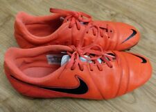 Mens Nike CTR360 Engage III FG Football Boots Red Size UK 10