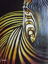 abstract Africa Zebra large oil painting canvas modern art contemporary original