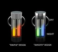 Dual-Glow Glowring ,new and exclusive, Keyring, colour choices,  perfect gift.