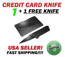 BUY GET 1 + 1 FREE KNIFE PACK CREDIT CARD Folding Sharp Wallet Knife Survival