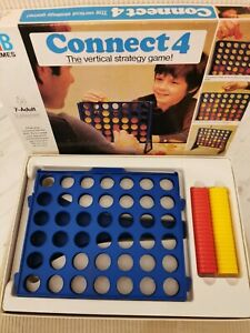 1975 Vintage CONNECT 4 Board Game MB Games Edition 100% COMPLETE Retro