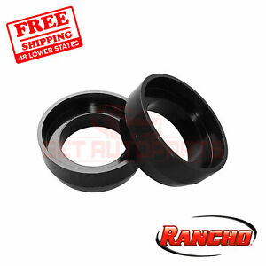 """Rancho 1.5"""" Lift Rear Coils Spring Spacers for Toyota 4Runner 2003-2019"""