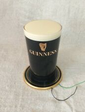 More details for vintage guinness bar topper light