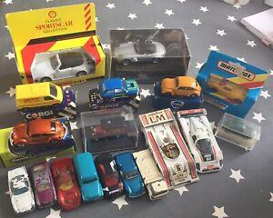 Job Lot Bundle Toy Cars Van Vehicle Corgi Matchbox Classics Collectible Preowned
