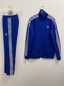 Adidas Originals Beckenbauer Tracksuit Collegiate Royal White Size S