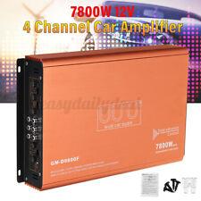 7800W 4-Kanal Auto Audio Verstärker Digital Stereo Bass Boost Subwoofer DC 12V