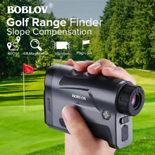 BOBLOV Golf Hunting Range Finder With Slope USB Charging 650Yard Telescope
