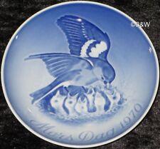 1970 BING & GRONDAHL / ROYAL COPENHAGEN PIATTO DELLA MAMMA TOP PRIMA SCELTA