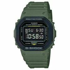 Casio G-Shock Black bezel with Green Case Watch DW-5610SU-3