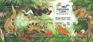 Wildlife 1996 Malaysia Animal Birds Flora Fauna (MS Hong Kong O/P) MNH / CTO ?