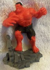 LOT # 985 RED HULK mystery Mini-Figure EXCLUSIVE B fr/MARVEL COLLECTIBLE DIORAMA