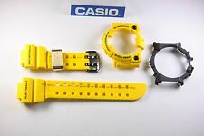 CASIO G-Shock Frogman GWF-T1030E-9J Yellow BAND & (Both) BEZEL Combo GWF-T1030E