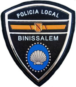 Policía Local Binissalem Police Dept parche insignia emblema texflex EB01639