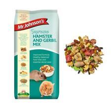 Mr Johnsons SUPREME HAMSTER GERBIL MIX Dwarf Muesli Mealworm Fibre Food 900gm
