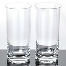 2 hohe Becher Gläser Saftgläser Wassergläser Tumbler