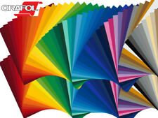 "50 Sheets - 12"" X 12"" ORACAL 651 Craft & Hobby Cutting Vinyl - *63 Color Choices"