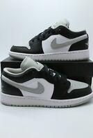 Nike Air Jordan 1 Low 'Shadow' Light Smoke Grey Men's & GS 553558-039 NEW 4-14
