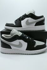 Nike Air Jordan 1 Low 'Shadow' Light Smoke Grey Men's & GS 553558-039 NEW 4-14