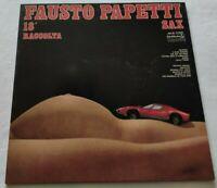 FAUSTO PAPETTI LP 18a RACCOLTA 33 GIRI VINYL 1974 ITALY DURIUM MS Al 77342 NM/NM