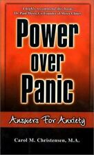 Power Over Panic: Answers for Anxiety by Carol M. Christensen, Good Book