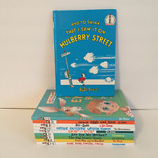 10 Dr. Seuss I Can Read By Myself Bright Beginning Books w/Vintage Mulberry Book