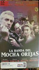 LA BANDA DEL MOCHA OREJAS. MANUEL OJEDA, DIANA GOLDEN.  RARE SPANISH VIDEO