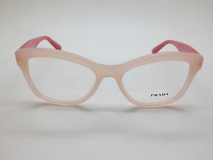 NEW Authentic PRADA VPR 29R UEW-1O1 Opal Pink 52mm RX Eyeglasses