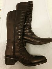 Dunne Black Boots UK5 38 Worn Once