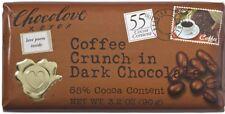 Chocolove Dark Chocolate Bar, 3.2 oz bars, Coffee Crunch 12 ea