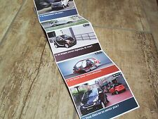 Lot  8 Cartes postales officielles /  8 Postcards SMART Fortwo  2012 //