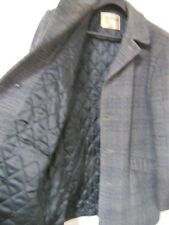 Heavy WINTER Wool JACKET Mens Size 40 Vintage Made in USA by FOX KNAPP Very Warm