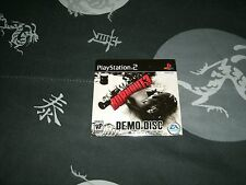 Burnout 3 Demo Disc For Sony Playstation 2 Brand New Factory Sealed