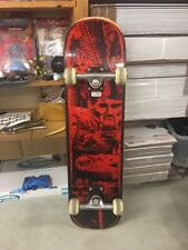 vintage nash skateboard nightmare Black / Red 1986 retro old school