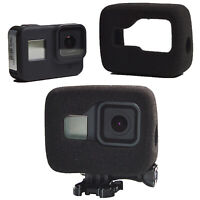 For GoPro Hero 8 Camera Windshield Foam Noise Reduction Housing Cover Case Shell
