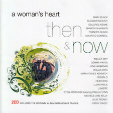 A Woman's Heart : Then And Now-2 CD SET-IRISH Folk, World, & Country