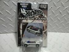 Hot Wheels Hall of Fame Silver Deora II w/PC Wheels
