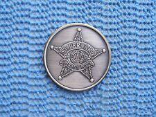1967 St. Bernard Sheriff'S Pose oxidized silver Mardi Gras Doubloon - 1st year