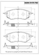 Disc Brake Pad Set-3.6R Limited Front Dash 4 Brake CD1078