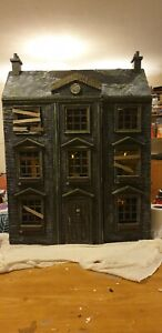 Custom Haunted Doll House Art Sculpture Upcycle Original Horror Movie Icons