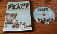 The Day After Peace (DVD, USA School Edition) world One Day Jeremy Gilley RARE