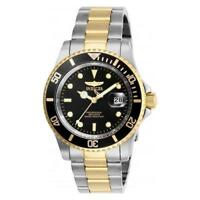 Invicta Men's Pro Diver Quartz Stainless Steel Two Tone Watch 26973