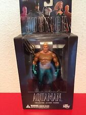 """Justice League Alex Ross Series 2 """"Aquaman"""" action figure (DC Direct)"""