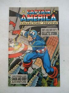 CAPTAIN AMERICA COLLECTORS PREVIEW #1 MARCH 1995 NM NEAR MINT 9.6 GALACTIC STORM
