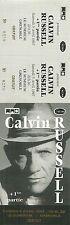 RARE / TICKET BILLET DE CONCERT - CALVIN RUSSELL LIVE A GRENOBLE LE SUMMUM 1997