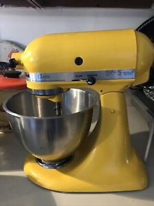 KitchenAid Classic K45SS Yellow 5 qt Tilt-Head Stand Mixer NO ATTACHMENTS