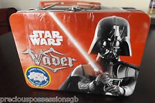 HIGHLY COLLECTIBLE STAR WARS DARTH VADER SUITCASE STYLE TIN UNOPENED