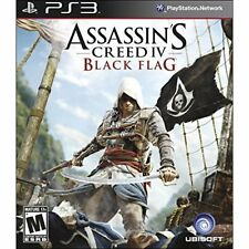 Assassin's Creed IV Black Flag For PlayStation 3 PS3 Fighting Very Good 8E