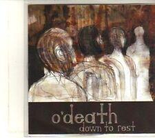 (DT443) O'Death, Down To Rest - DJ CD