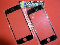 Kit VETRO VETRINO ESTERNO per APPLE IPHONE 5 5G NO DISPLAY NO TOUCH SCREEN NERO